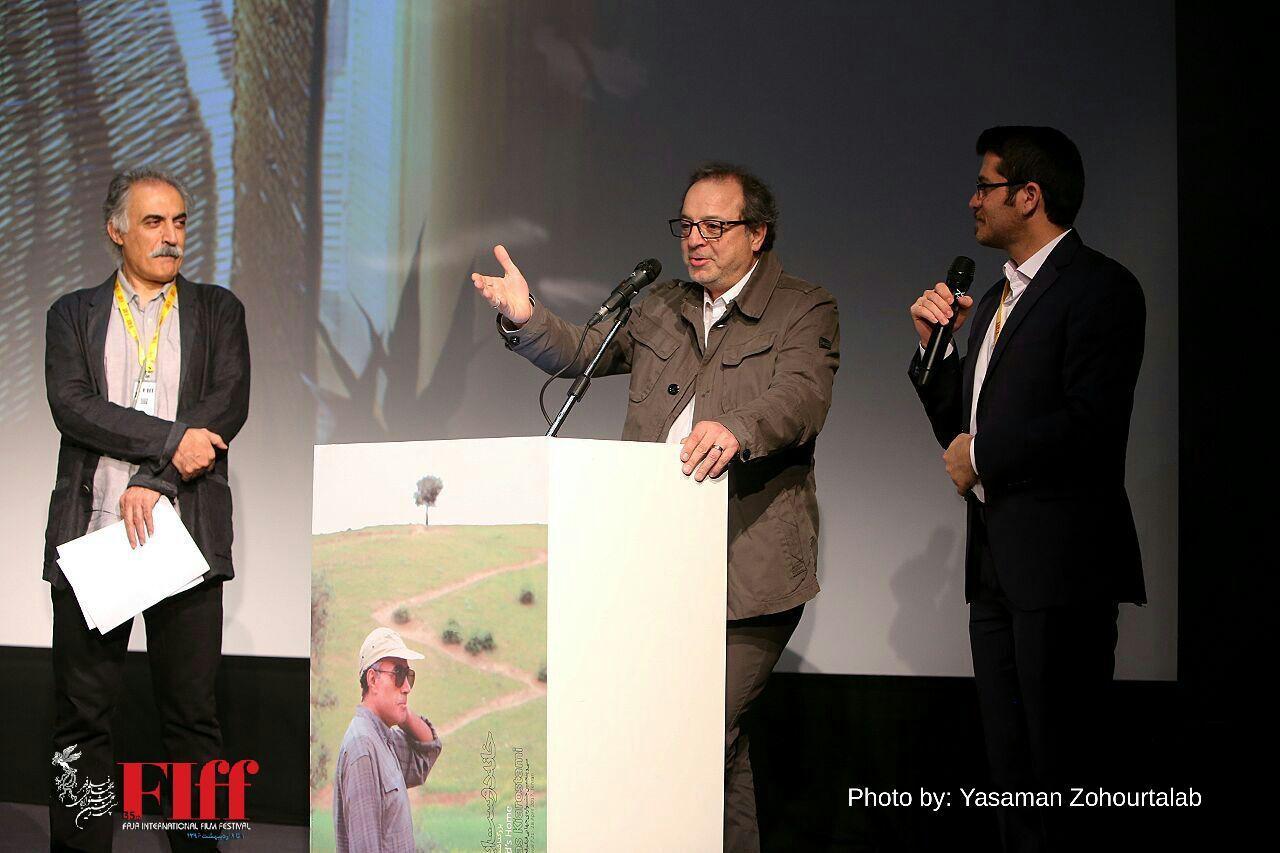 گزارش تصویری اولین مراسم بزرگداشت عباس کیارستمی در جشنواره جهانی