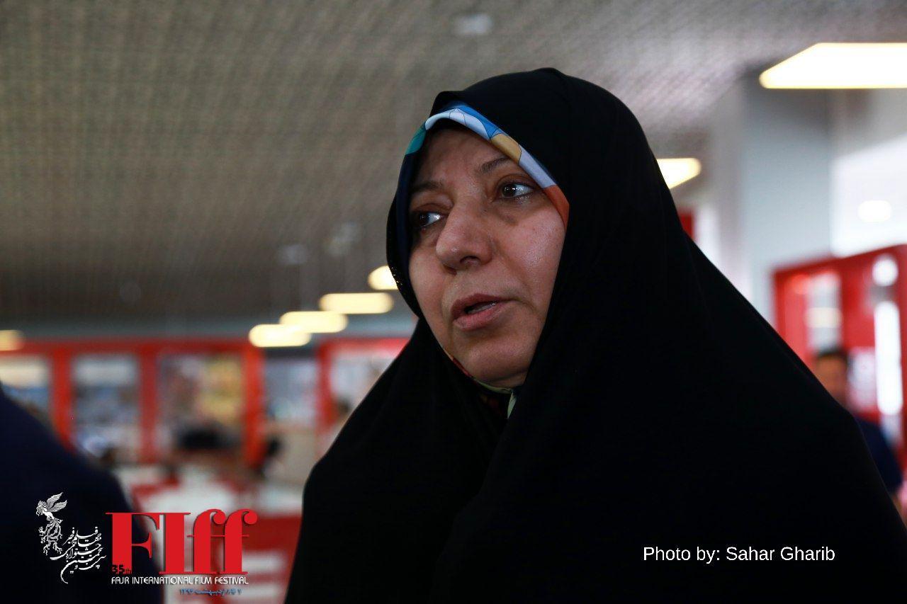 گزارش تصویری حضور پروانه مافی نماینده مجلس در کاخ جشنواره جهانی
