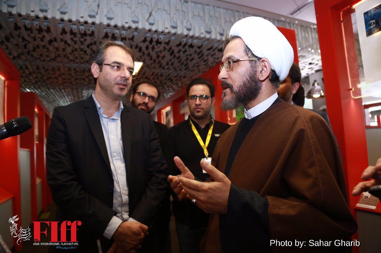 گزارش تصویری حضور حجتالاسلام مازنی در کاخ جشنواره جهانی