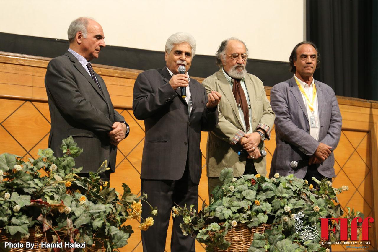 رونمایی از «ناخدا خورشید» در سینما فلسطین مورد استقبال قرار گرفت