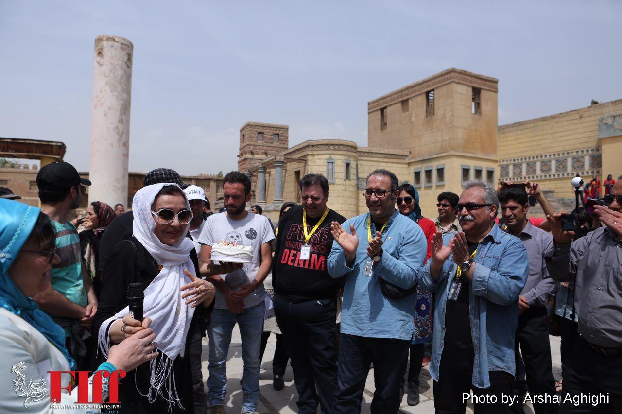 برگزاری جشن تولد داور آذربایجانی جشنواره جهانی در شهرک سینمایی غزالی
