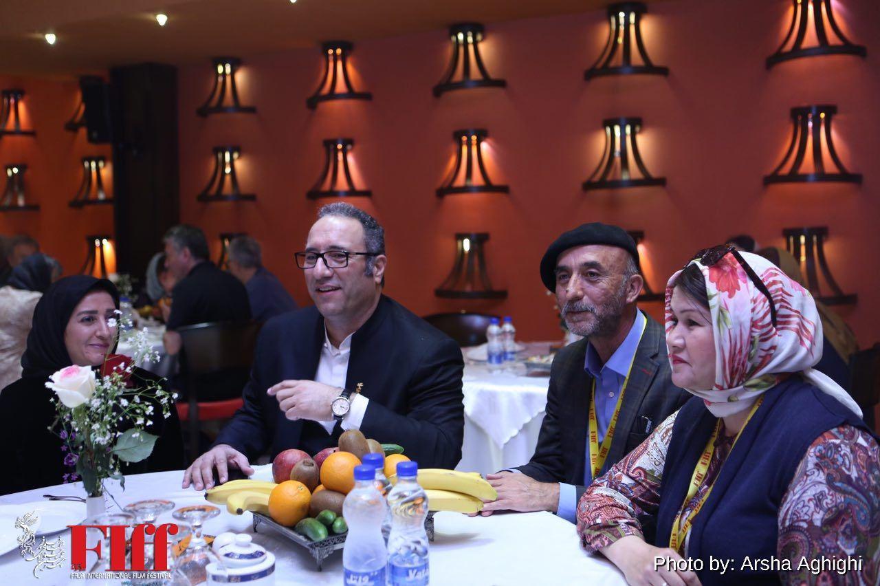 گزارش تصویری ضیافت شام جشنواره جهانی فیلم فجر در هتل فردوسی