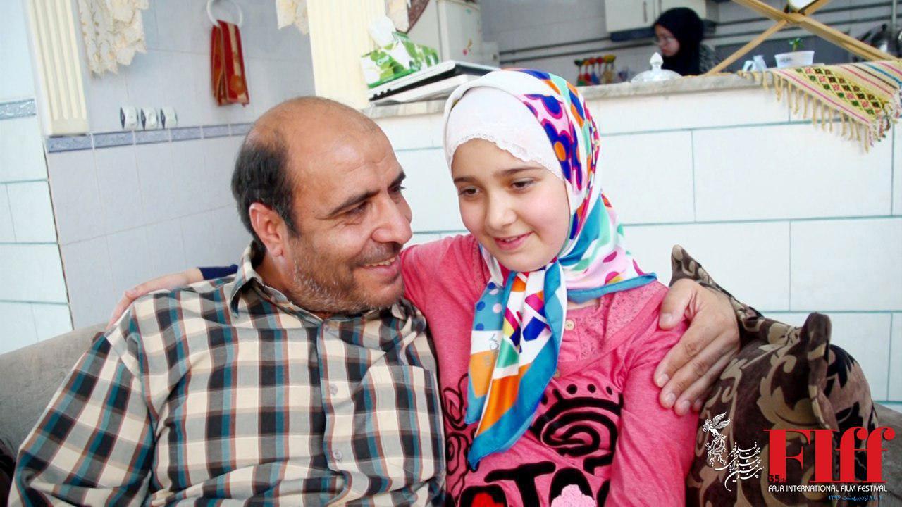 تبریک جشنواره جهانی فیلم فجر به خانواده شهید بابایی از مدافعین حرم