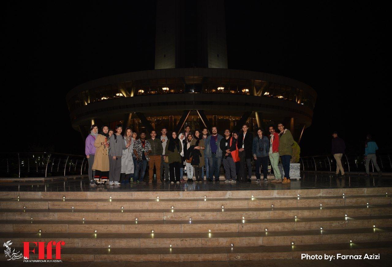 گزارش تصویری بازدید دانشجویان دارالفنون از برج میلاد تهران