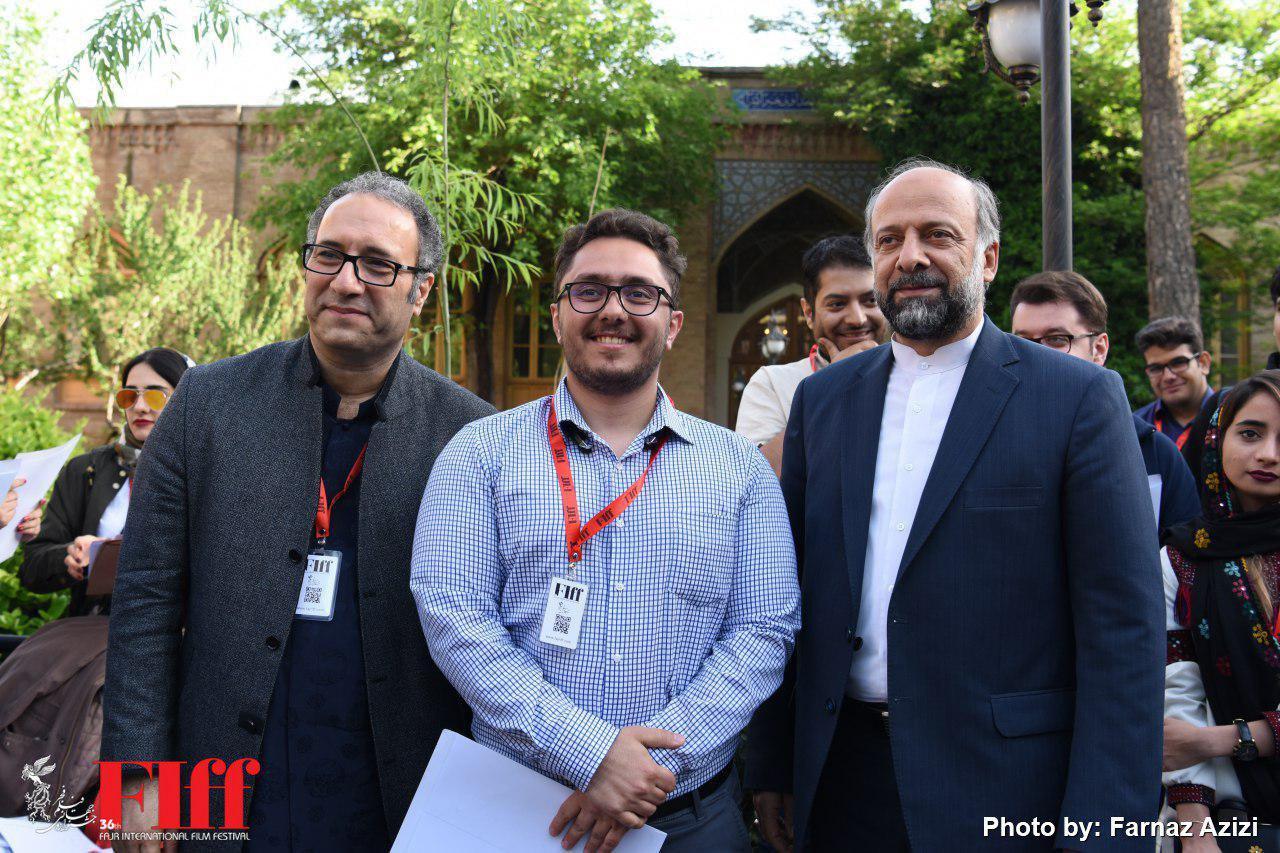 گزارش تصویری مراسم اختتامیه «دارالفنون» در جشنواره جهانی فیلم فجر