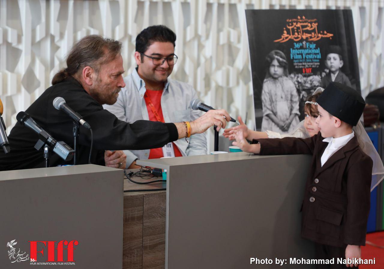 گزارش تصویری نشست خبری فرانکو نرو بازیگر ایتالیایی در کاخ جشنواره جهانی فجر