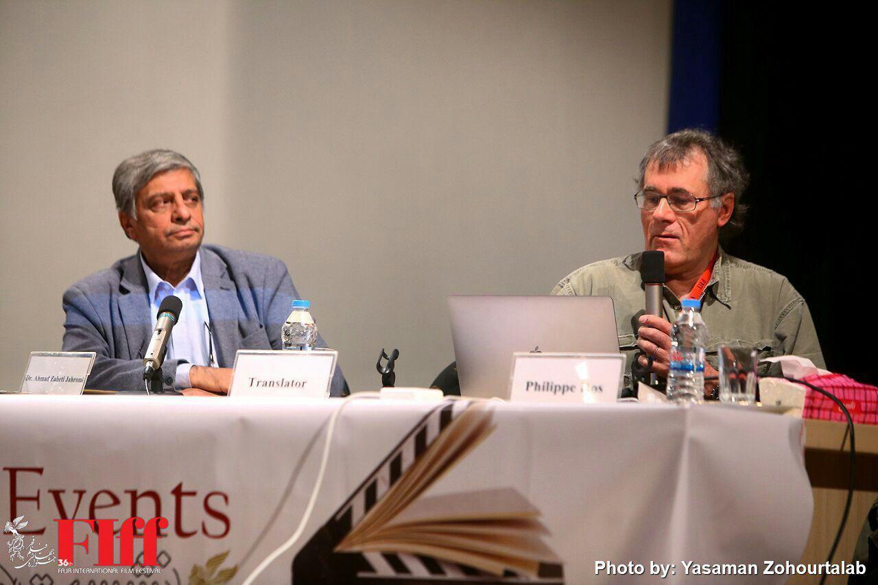 گزارش تصویری کارگاه فیلیپ راس در دانشگاه صدا و سیما
