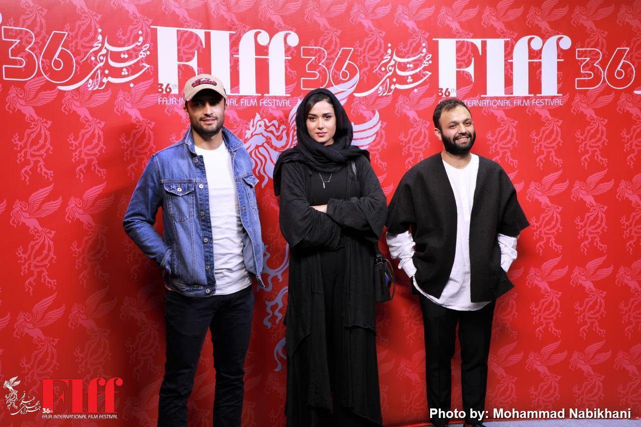 گزارش تصویری نمایش «هتتریک» در کاخ جشنواره جهانی فیلم فجر