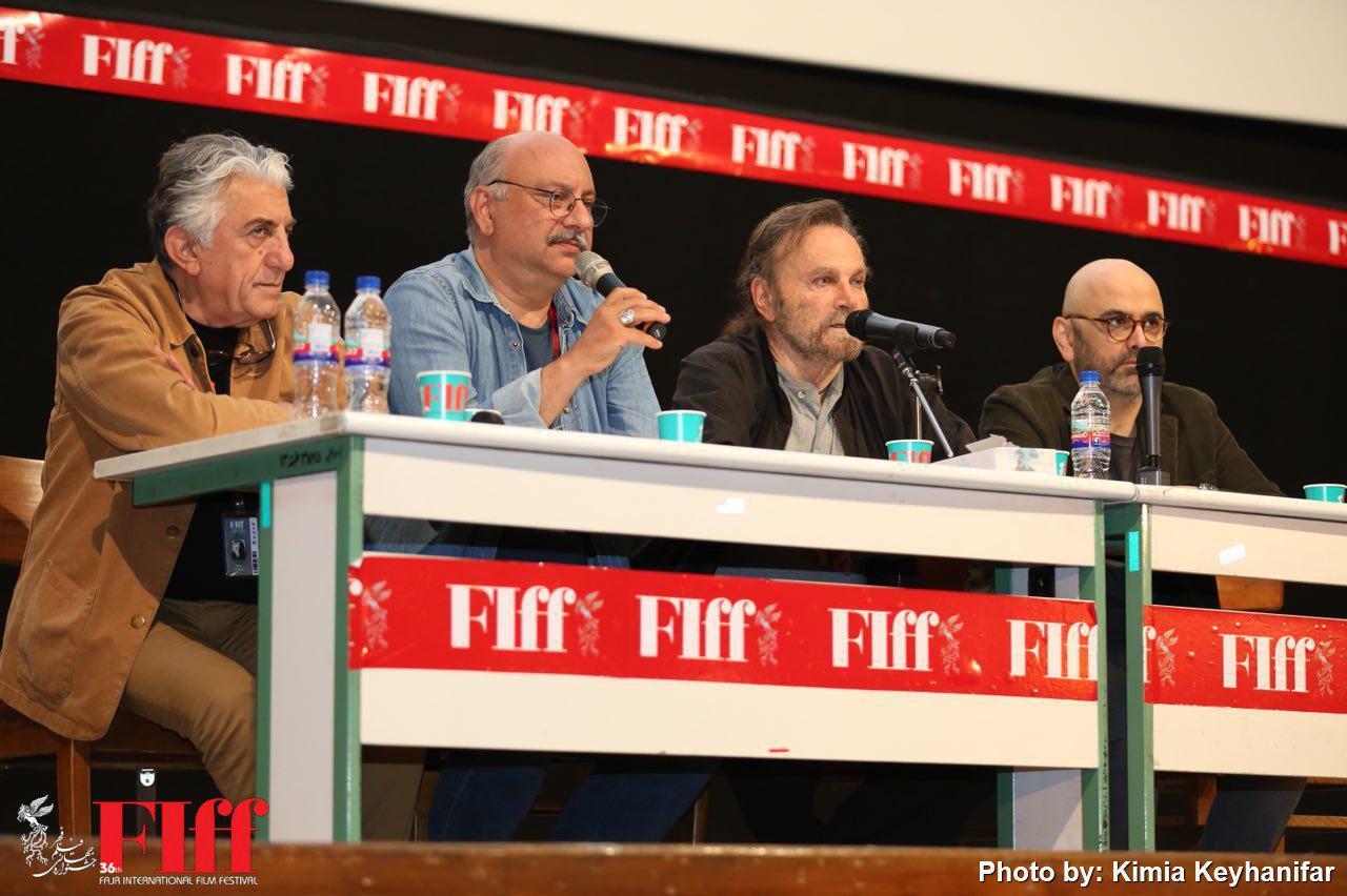گزارش تصویری نشست صمیمانه فرانکو نرو با بازیگران ایرانی