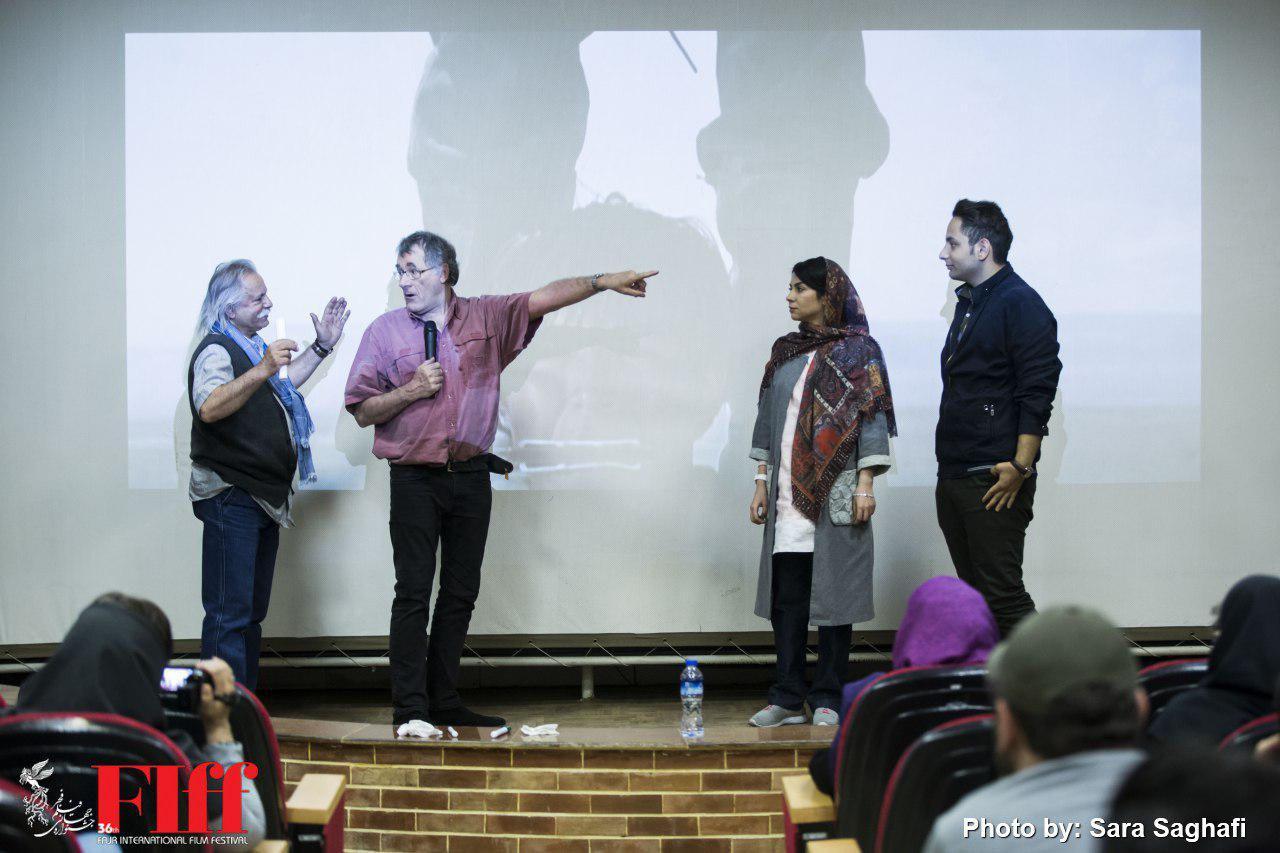 گزارش تصویری کارگاه فیلمبرداری فیلیپ راس در دانشگاه سوره
