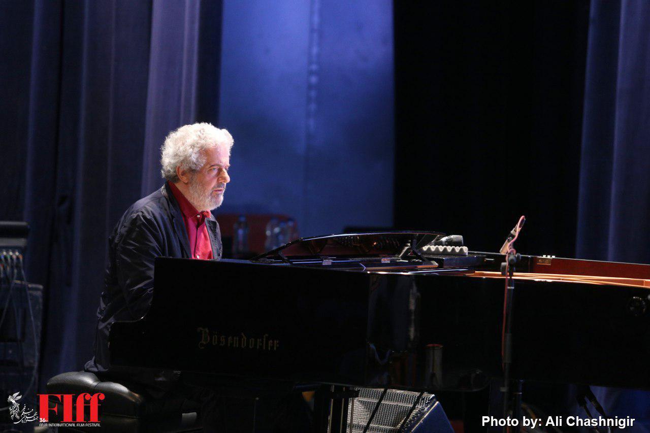 گزارش تصویری کنسرت نیکولا پیووانی آهنگساز ایتالیایی در تالار وحدت