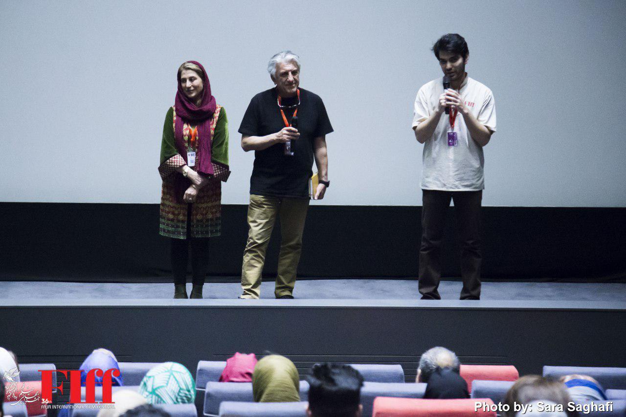 گزارش تصویری معرفی فیلم «زندگی در گذشته پیش رو» در کاخ جشنواره جهانی فجر