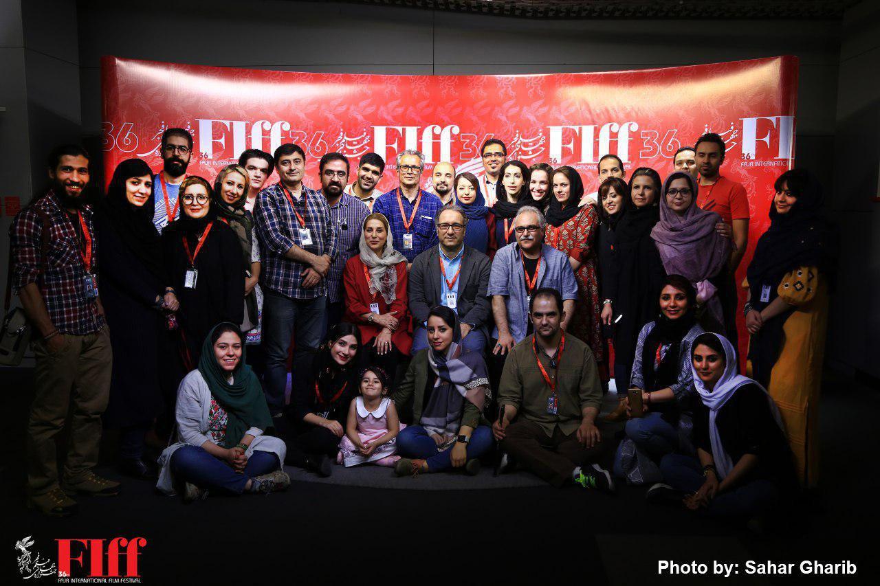 گزارش تصویری عکس یادگاری دست اندرکاران سیوششمین جشنواره جهانی فیلم فجر
