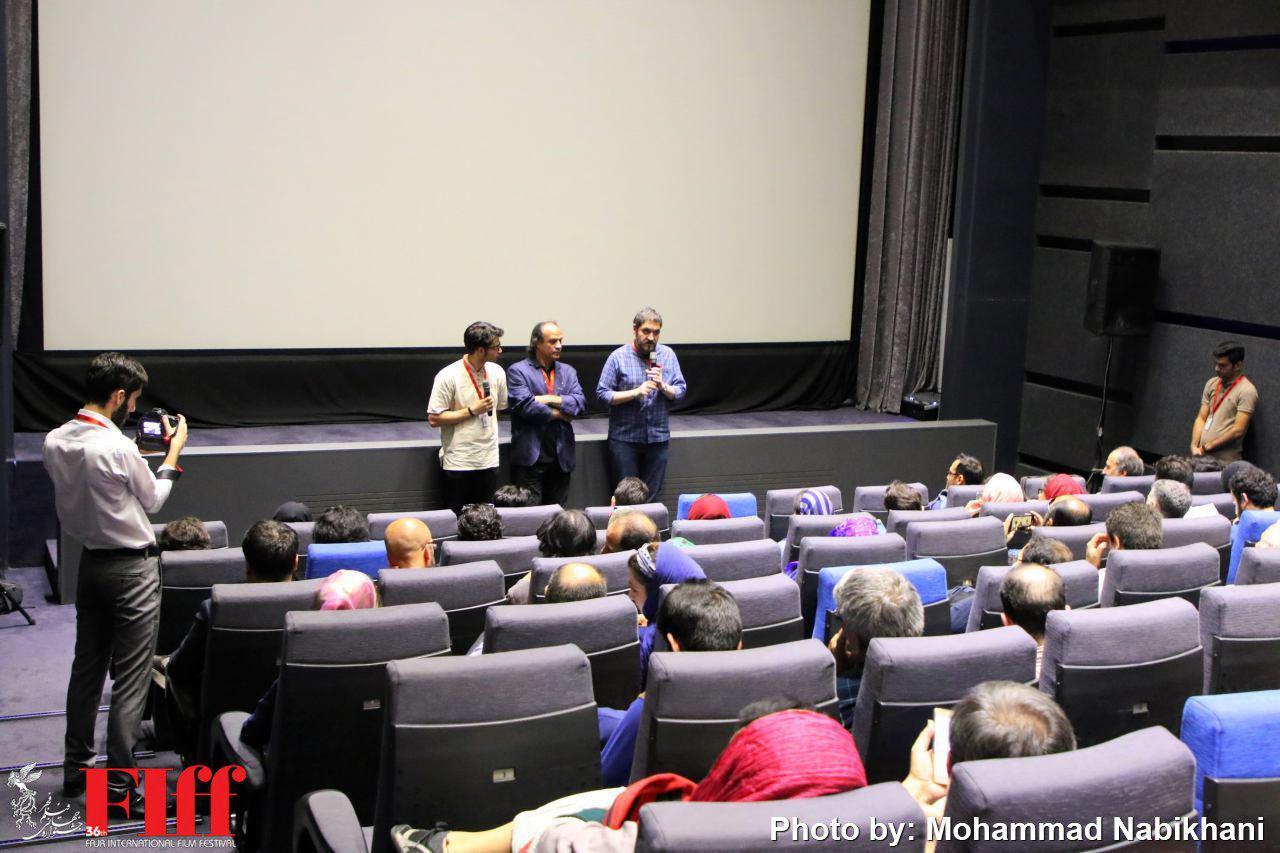 آخرین نمایش نسخه بازسازی شده «امیرکبیر»/ خانواده علی حاتمی آمدند