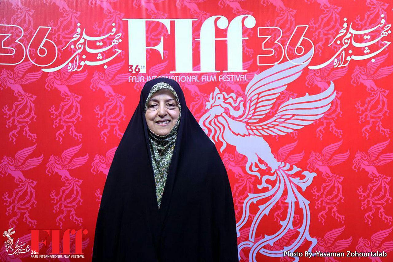 ابتکار: به نمایش فیلمهای خوب در حوزه زنان در جشنواره جهانی فجر امیدوار هستم