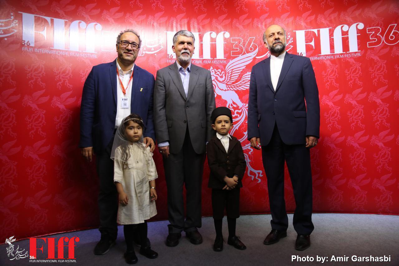 گزارش تصویری بازدید وزیر فرهنگ و ارشاد اسلامی از کاخ جشنواره جهانی فیلم فجر
