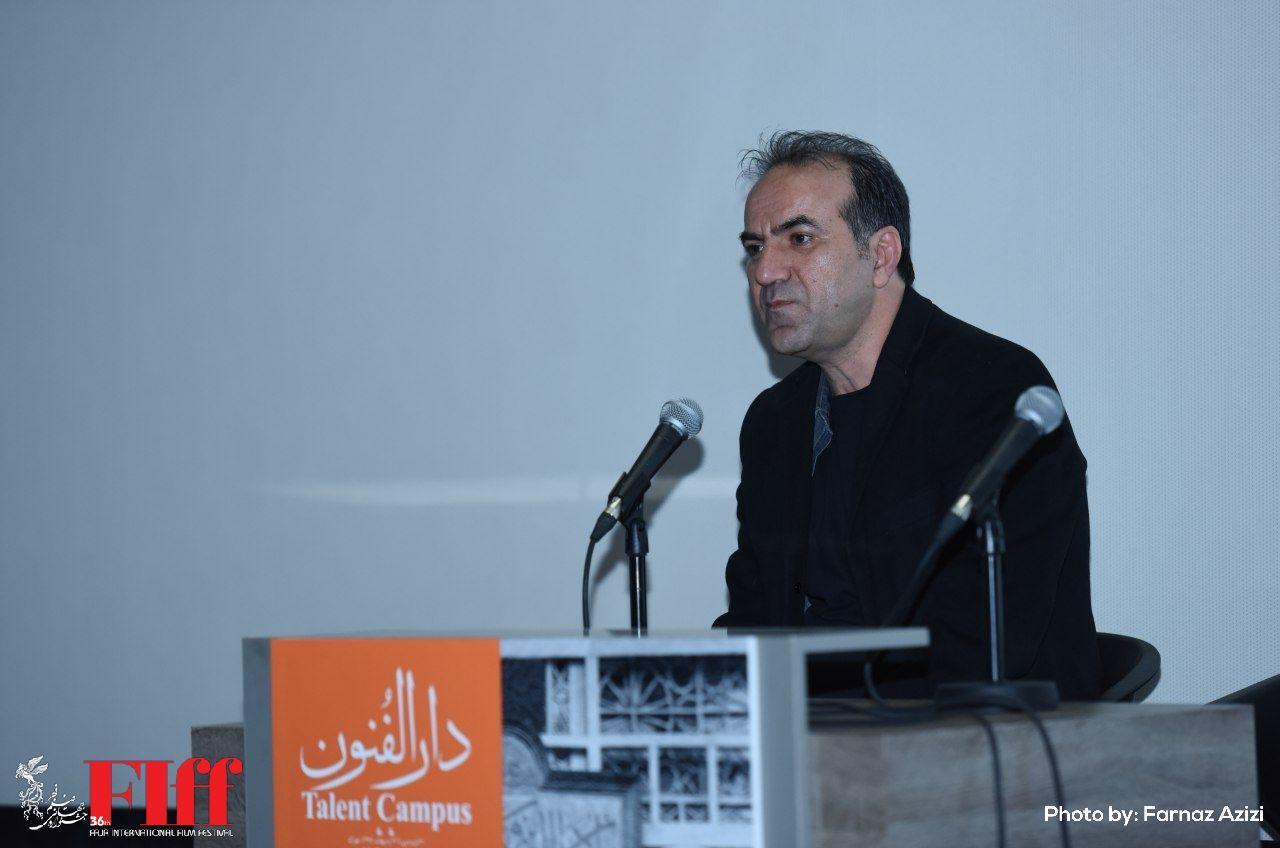 گزارش تصویری کارگاه فیلمنامهنویسی مهران کاشانی در بخش دارالفنون