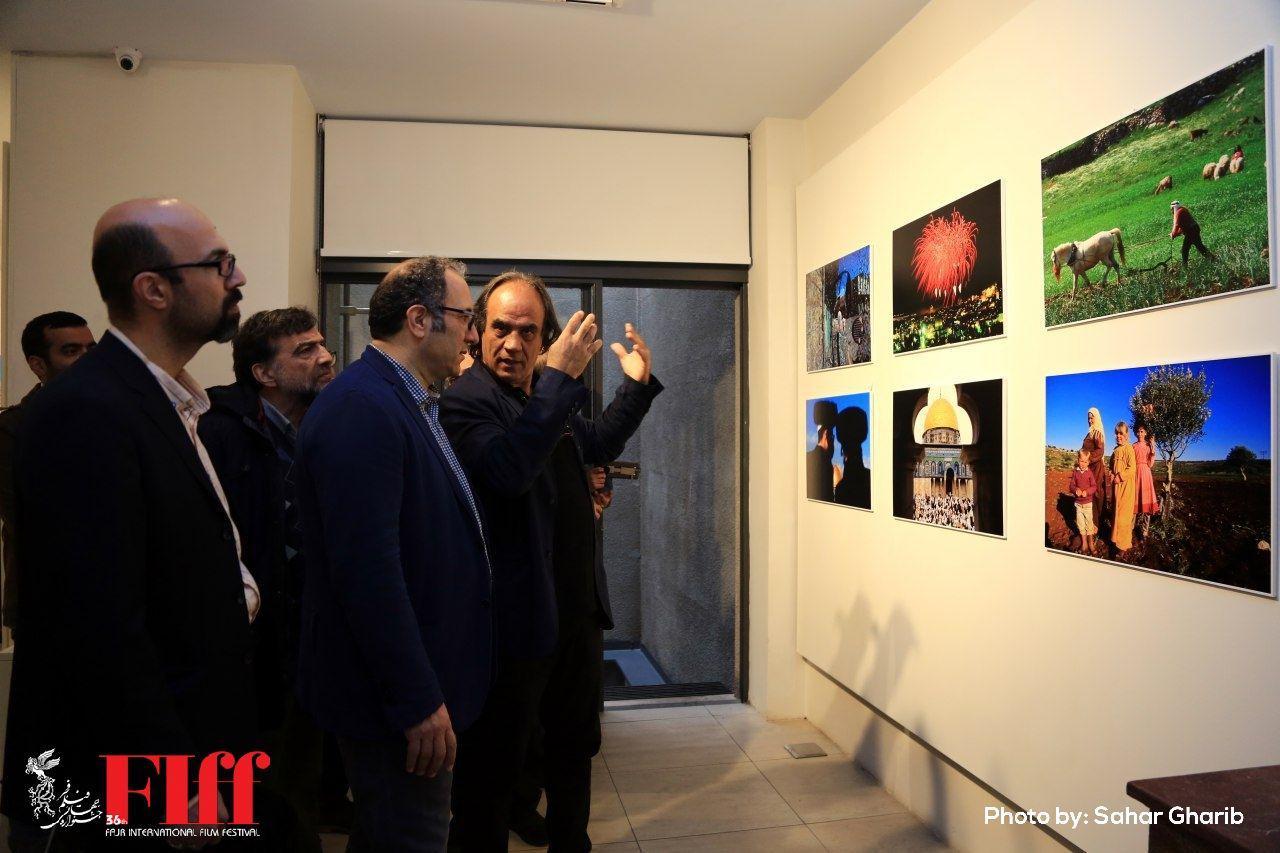 گزارش تصویری افتتاح نمایشگاه عکسهای آلفرد یعقوبزاده با نام «انتفاضه»