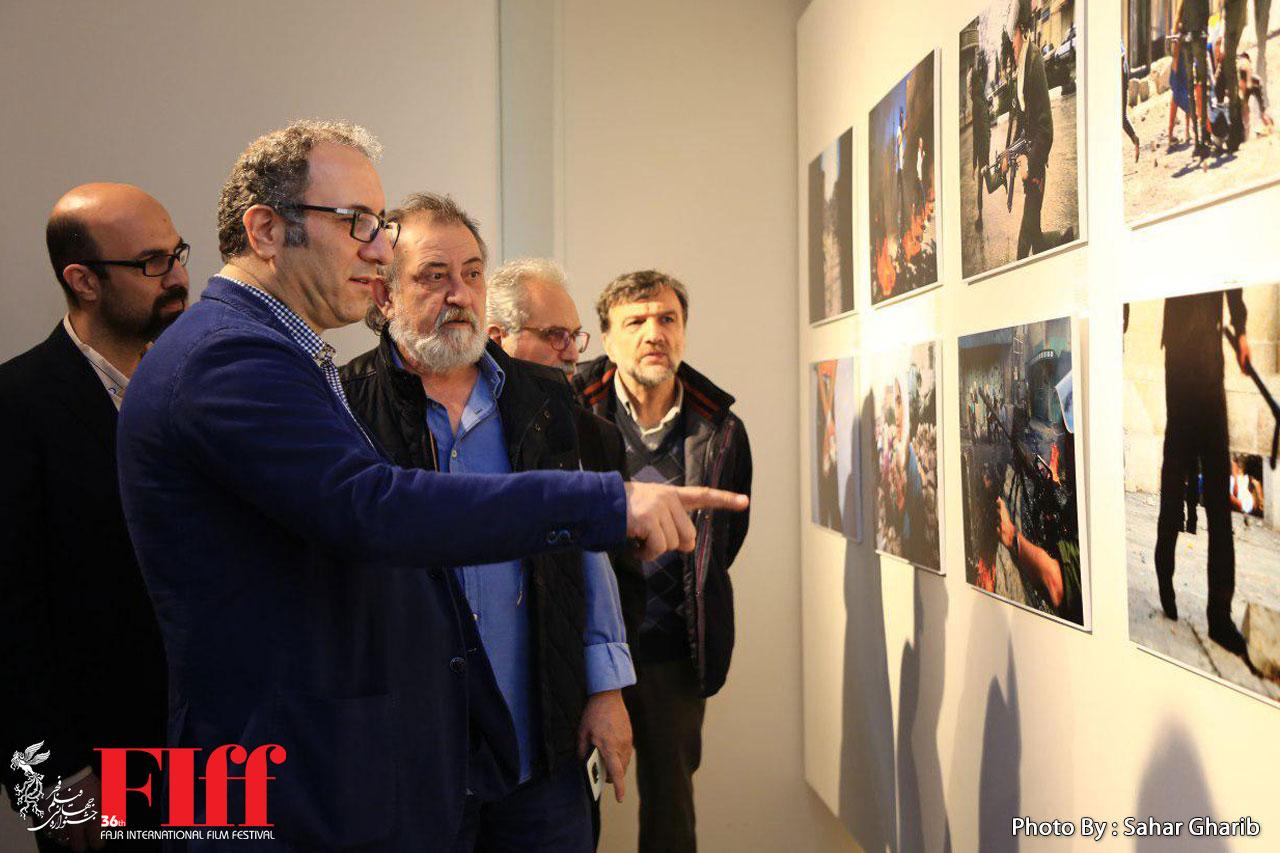 نمایشگاه عکسهای آلفرد یعقوبزاده افتتاح شد/ فلسطین به روایت عکاس جهانی