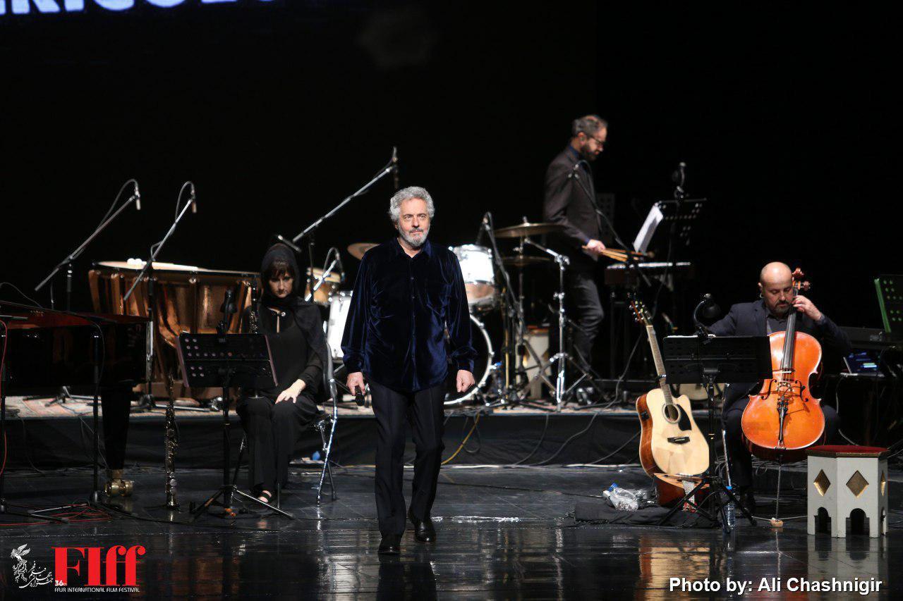 نیکولا پیووانی آهنگساز ایتالیایی مهمان ایرانیها شد/ موسیقی با طعم سینما