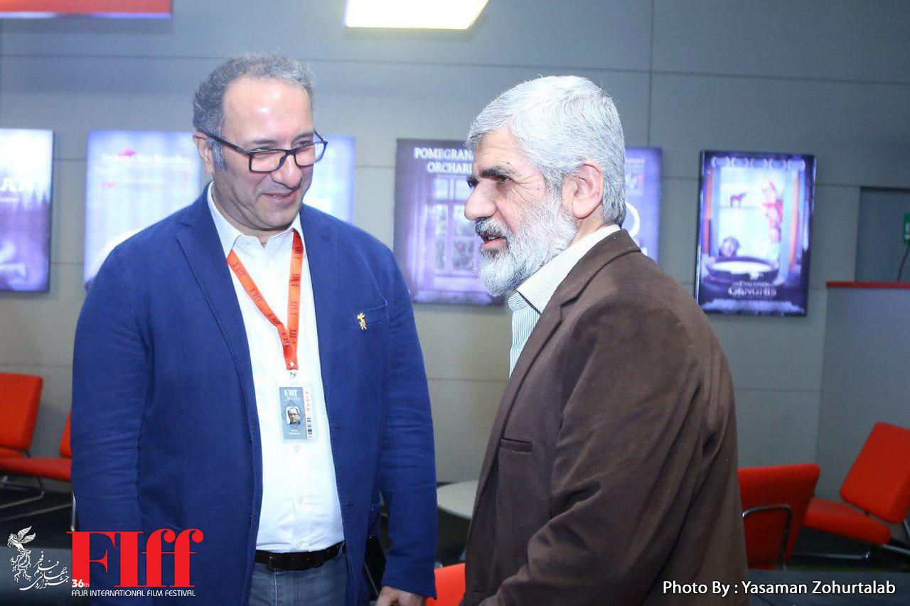 پدر شهید احمدی روشن مهمان سی و ششمین جشنواره جهانی فیلم فجر شد