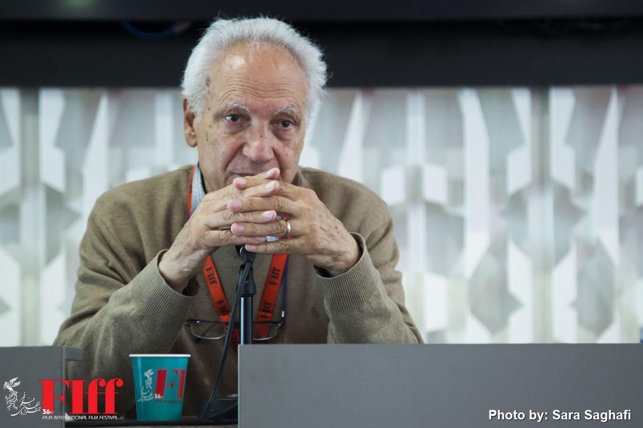 گزارش تصویری نشست خبری روبرتو پرپینیانی تدوینگر ایتالیایی