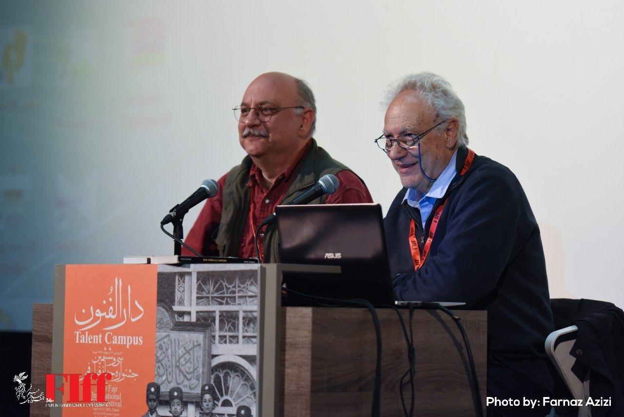گزارش تصویری کارگاه تدوین روبرتو پرپینانی در بخش دارالفنون
