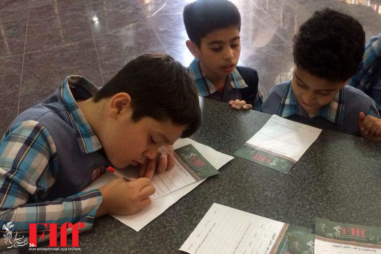 ۲ هزار دانش آموز در سومین روز «زنگ هفتم» فیلم دیدند