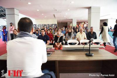 گزارش تصویری کارگاه «تجربه ای از ذن» در کاخ جشنواره جهانی فیلم فجر