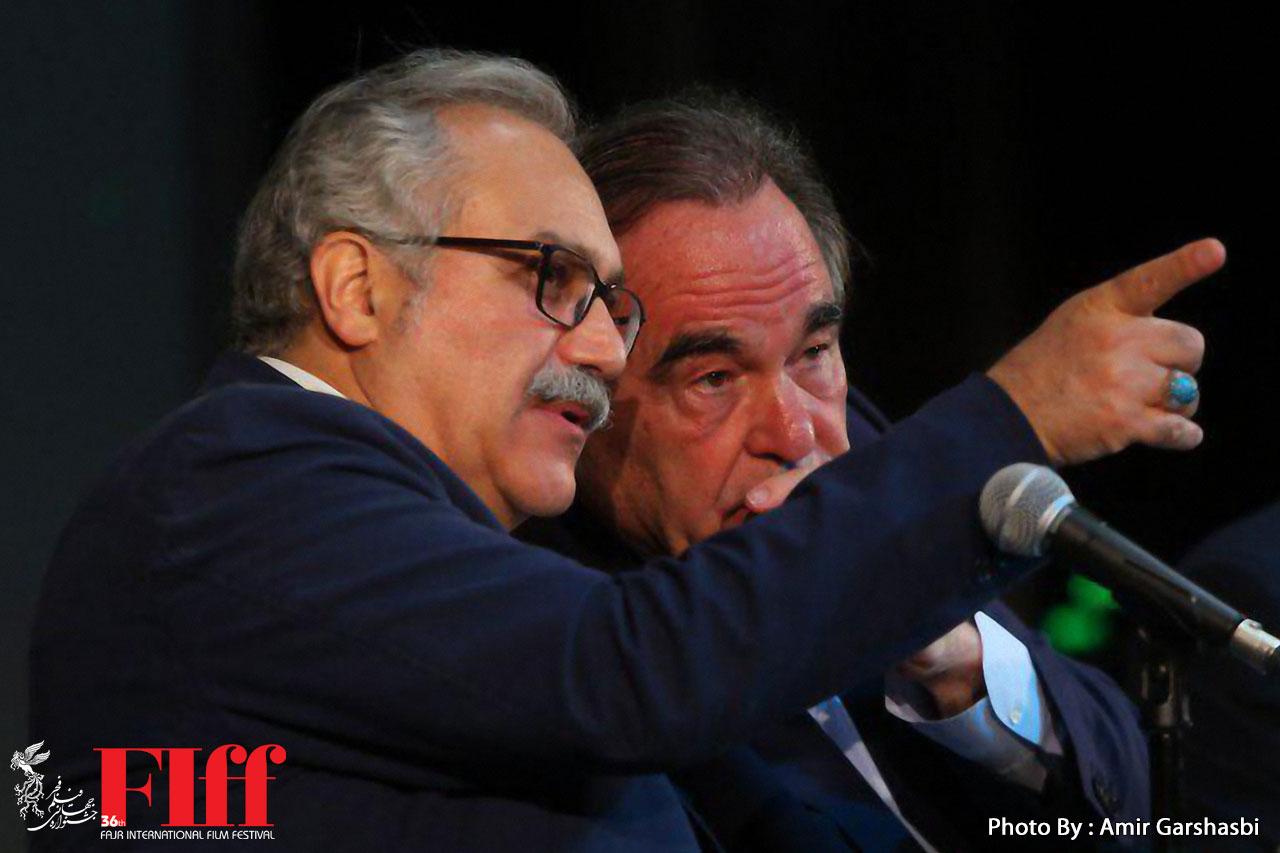 توضیح روابط عمومی جشنواره جهانی فیلم فجر درباره حضور الیور استون در ایران