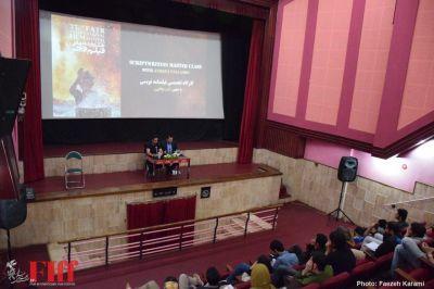 گزارش تصویری کارگاه تخصصی «فیلمنامهنویسی» آندرئا پاللائورو در سینما فلسطین
