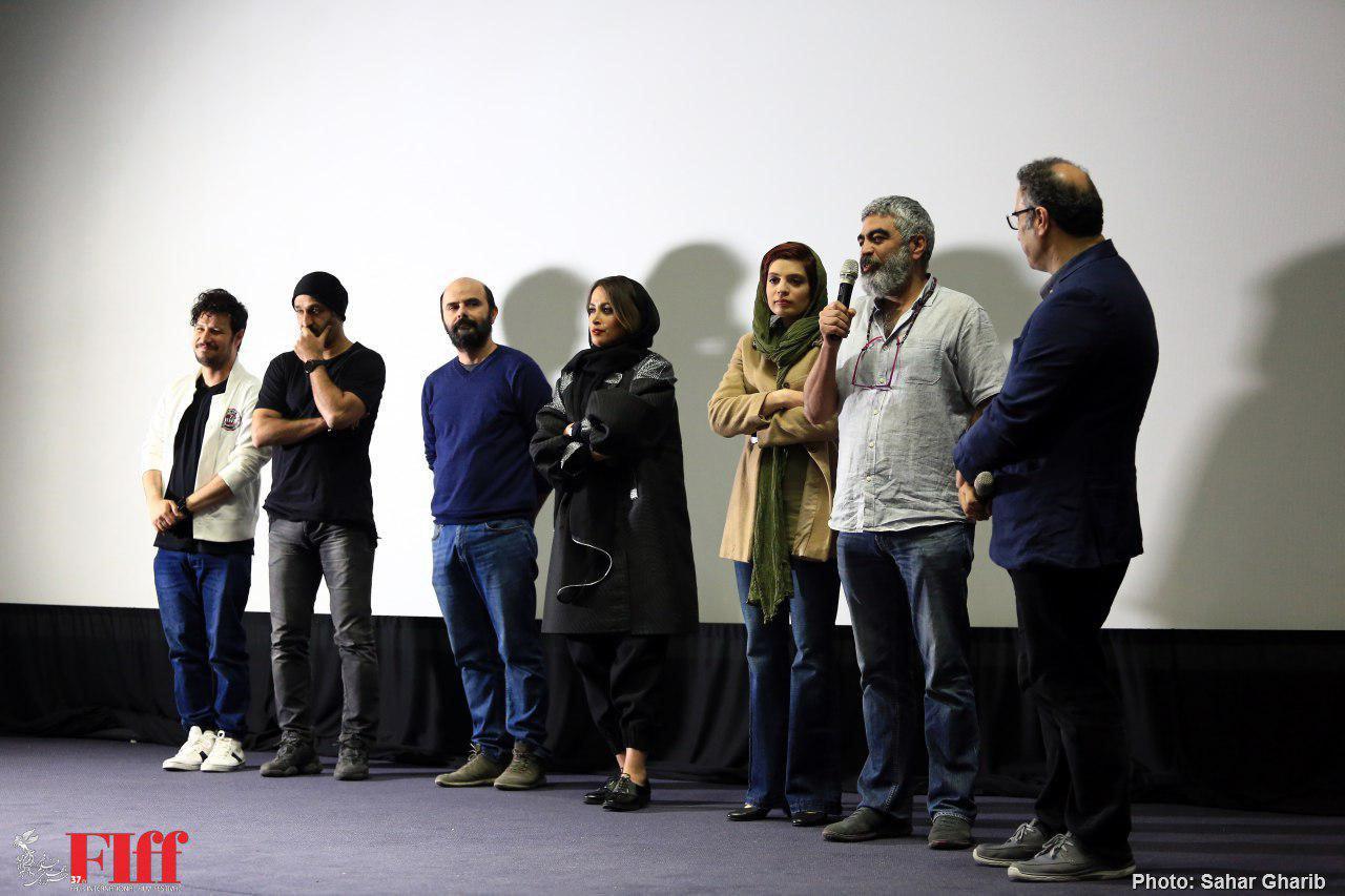 گزارش تصویری معرفی فیلم سینمایی «جهان با من برقص» با حضور دبیر جشنواره