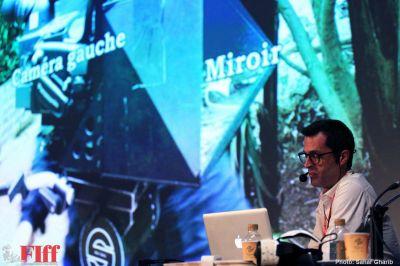 گزارش تصویری کارگاه «شیوه های داستانگویی جدید در واقعیت مجازی» با حضور دیمیتری آلیپ