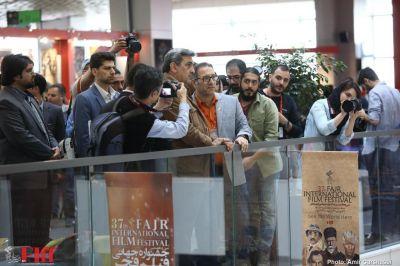 گزارش تصویری بازدید شهردار تهران از سیوهفتمین جشنواره جهانی فیلم فجر