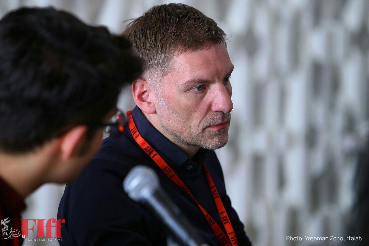 گزارش تصویری نشست مطبوعاتی هانس یورگ وایسبریخ در کاخ جشنواره