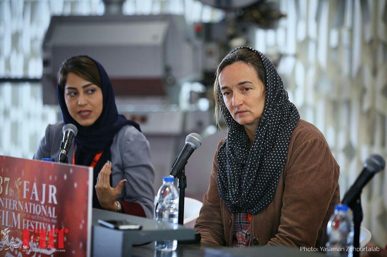 گزارش تصویری نشست خبری جولی برتوچلی در جشنواره جهانی فجر