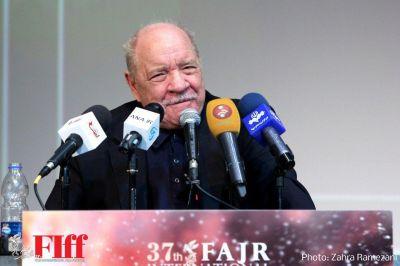 گزارش تصویری نشست خبری پل شریدر در سیوهفتمین جشنواره جهانی فیلم فجر