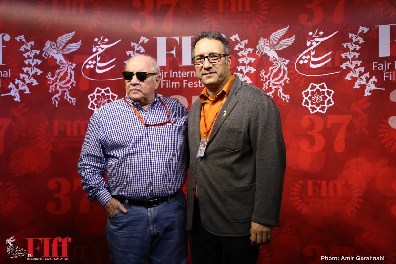 گزارش تصویری بازدید پل شریدر از محل برپایی جشنواره جهانی فیلم فجر