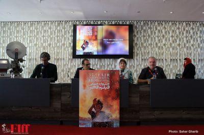 گزارش تصویری پنل «صلح» سیوهفتمین جشنواره جهانی فیلم فجر