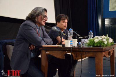 گزارش تصویری کارگاه «انتقال تجربه» با حضور پیمان قاسمخانی در سینما فلسطین