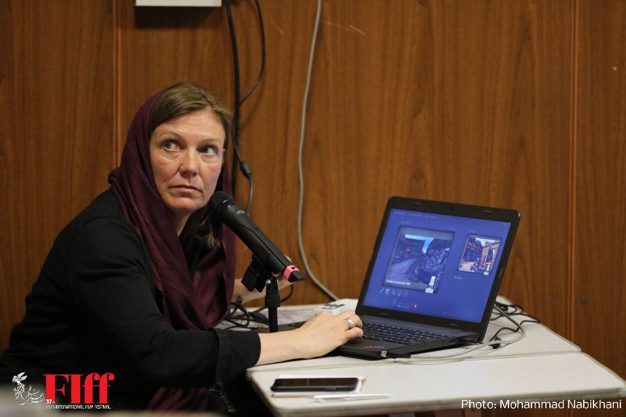 گزارش تصویری کارگاه طراحی صحنه زیلکه بوئر در دانشگاه سوره