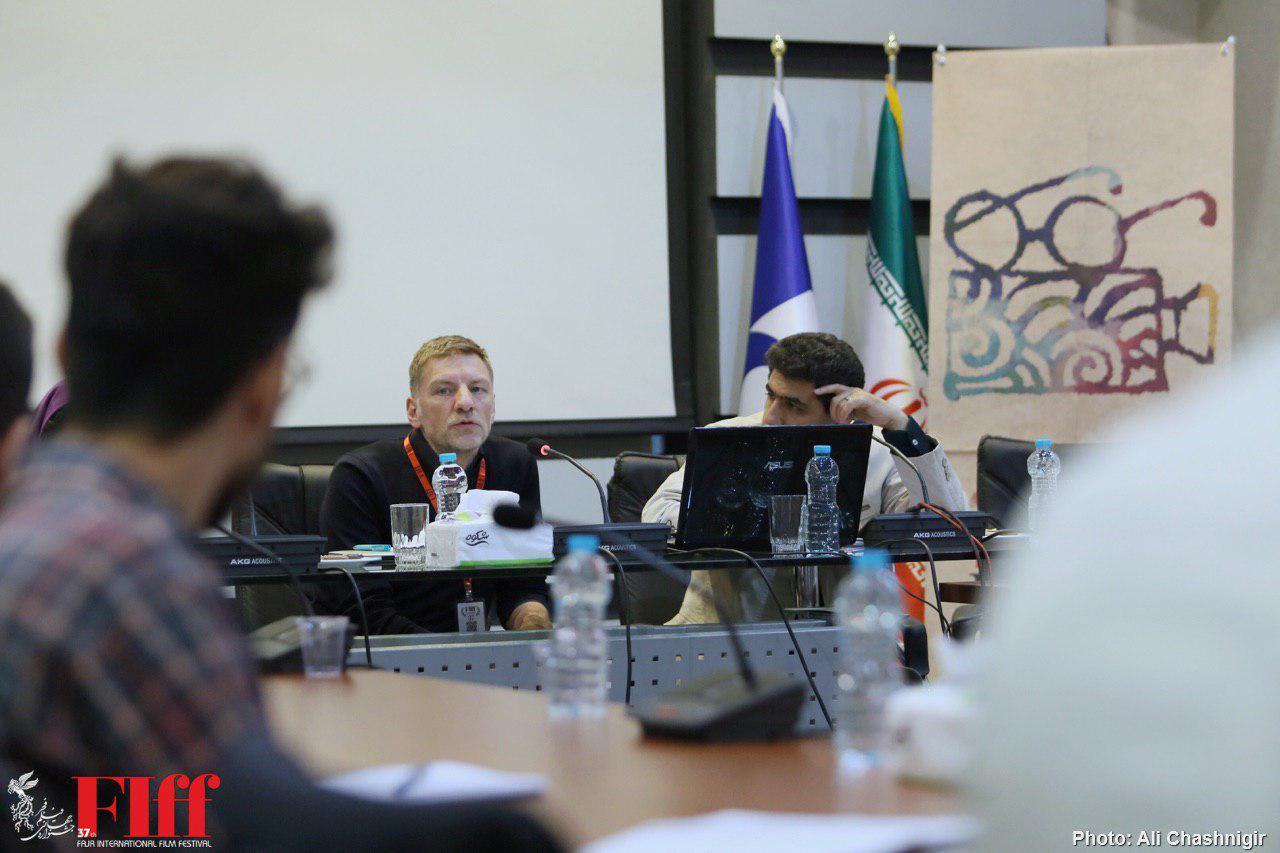 گزارش تصویری کارگاه تدوین هانس یورگ وایسبریخ در دانشگاه صدا و سیما