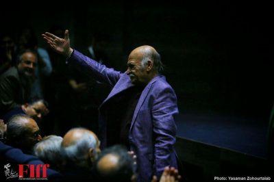 گزارش تصویری مراسم بزرگداشت علیاکبر صادقی در جشنواره جهانی فجر/ ۲
