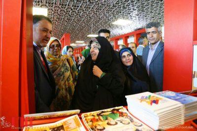 گزارش تصویری حضور معاون امور زنان و خانواده رییسجمهوری در جشنواره جهانی فجر