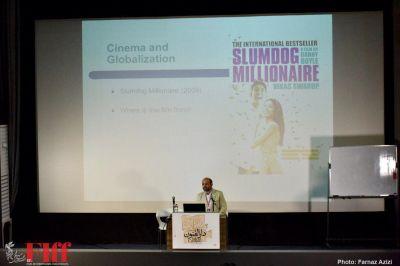 گزارش تصویری کارگاه «سینما، جهانی شدن هویت» با حضور شهاب اسفندیاری