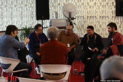 گزارش تصویری جلسه جمعبندی «حلقه منتقدان» در جشنواره جهانی فیلم فجر