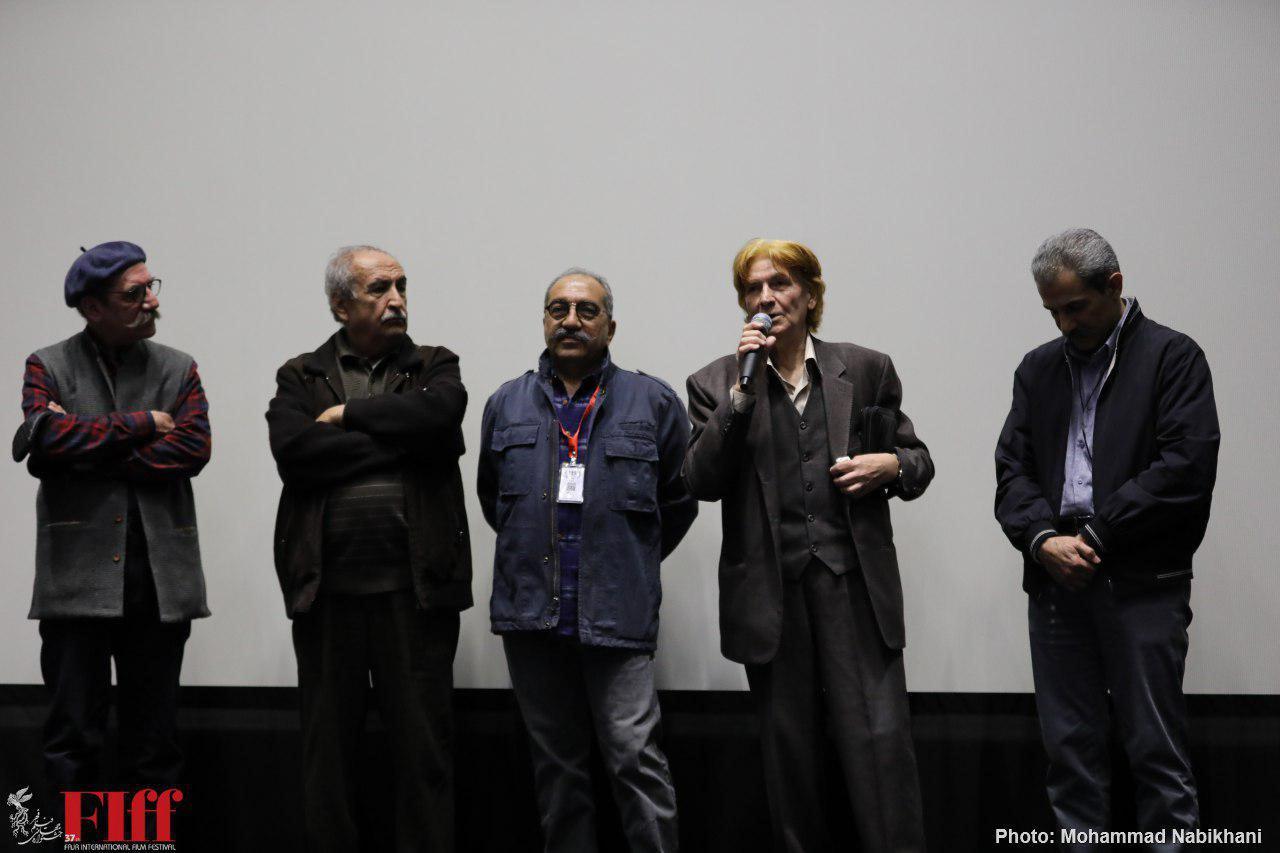 نسخه مرمتشده «جادههای سرد» به نمایش درآمد/ اولین تجربه بزرگان امروز سینما