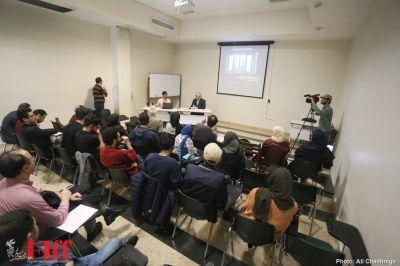 گزارش تصویری کارگاه سینمای آهسته در دانشگاه تهران