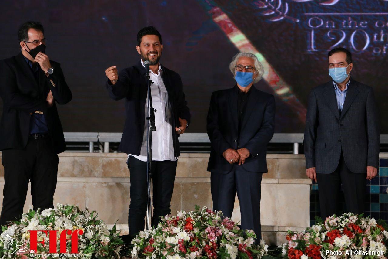 گزارش تصویری اولین آیین تجلیل از افتخارآفرینان سینمای ایران در عرصه بینالملل/ ۲