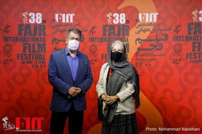 گزارش تصویری حضور رخشان بنیاعتماد و جهانگیر کوثری در کاخ جشنواره